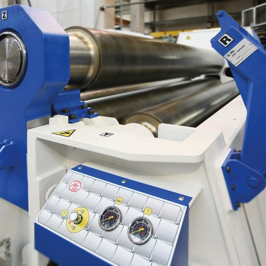 4 roll plate bending machine | MG Srl
